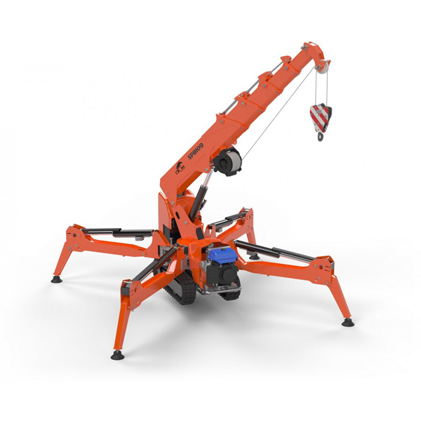 Spb209cp Mini Crawler Crane Burnt Timber Lifting Solutions