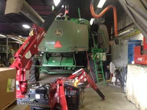 Agricultural repairs at Deerland